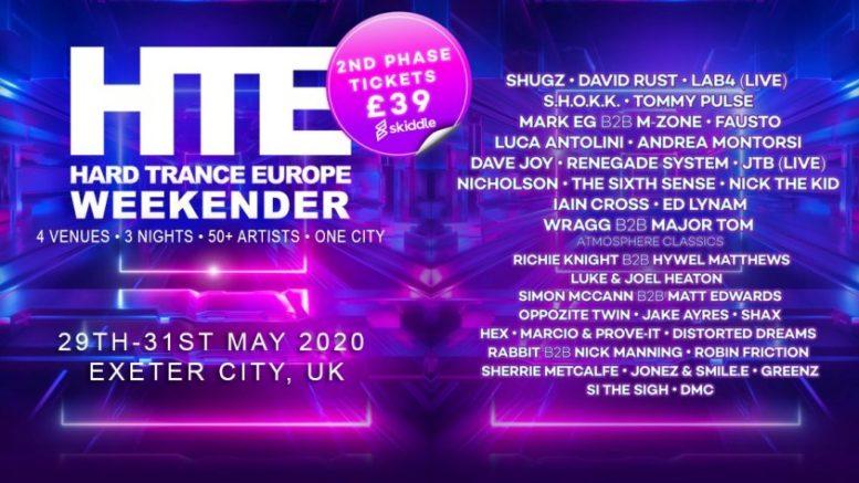 HTE Hard Trance Europe Weekender